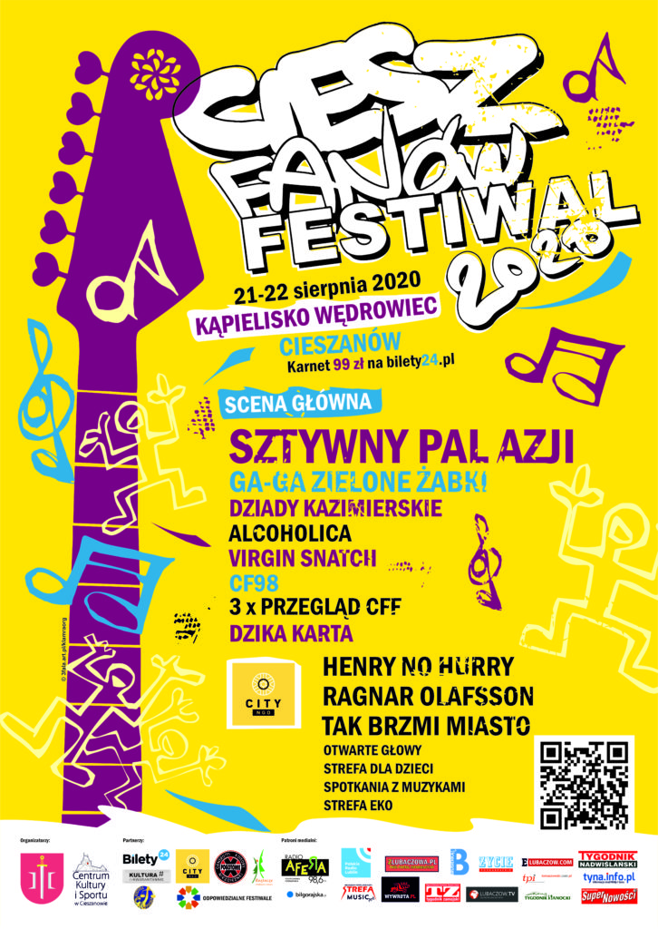plakat Ciesz Fanów Festiwal
