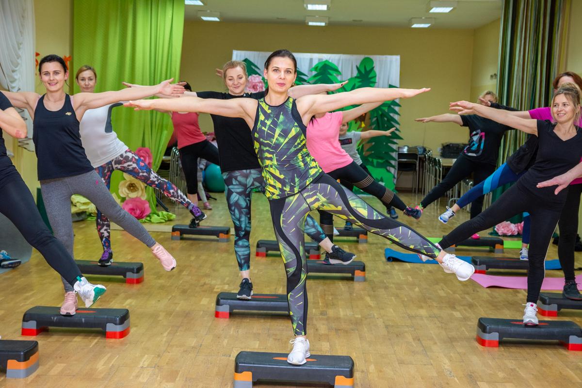 Zapraszamy na otwarty trening aerobiku